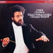 シノーポリのヴェルディ/序曲集 蘭PHILIPS 3001 LP レコード