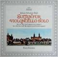 フルニエのバッハ/無伴奏チェロ組曲第3&4番 独ARCHIV 2827 LP レコード