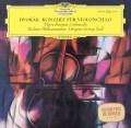 フルニエ&セルのドヴォルザーク/チェロ協奏曲  独DGG 3037 LP レコード