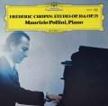 ポリーニのショパン/12の練習曲 独DGG 3037 LP レコード