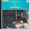 グリュミオーのラヴェル/ツィガーヌほか 仏PHILIPS 2821 LP レコード