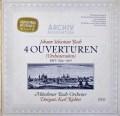 リヒターのバッハ/「管弦楽組曲」全集 独ARCHIV  3037 LP レコード