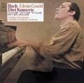 グールドのバッハ/ピアノ協奏曲集 独CBS 2821 LP レコード
