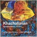 ハチャトゥリアンの自作自演/交響曲第2番「鐘」 英DECCA 3037 LP レコード