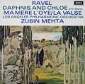 【オリジナル盤】メータのラヴェル/「ダフニスとクロエ」第2組曲ほか 英DECCA 3037 LP レコード