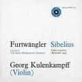 クーレンカンプ&フルトヴェングラーのシベリウス/ヴァイオリン協奏曲  英Unicorn 3037 LP レコード