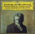 ポリーニのベートーヴェン/「ハンマー・クラヴィーア」ソナタ 独DGG 2827 LP レコード