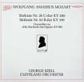 セルのモーツァルト/交響曲第28&33番ほか   独EPIC 3037 LP レコード