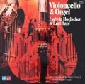 ヘルシャー&ラップのヴァレンティーニ、レスピーギ&フォーレ/チェロとオルガンのための作品集  独MPS/BASF 3037 LP レコード