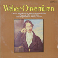 スウィトナーのウェーバー/序曲集 独ETERNA 2747 LP レコード