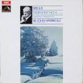 バルビローリのシベリウス/交響曲第4番ほか 英EMI 2750 LP レコード