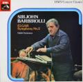 バルビローリのエルガー/交響曲第2番 英EMI 2750 LP レコード