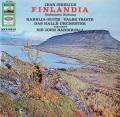 バルビローリのシベリウス/交響詩「フィンランディア」ほか 独EMI 2750 LP レコード
