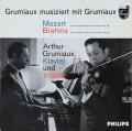 グリュミオーのモーツァルト&ブラームス/ヴァイオリンソナタ集 蘭PHILIPS 2750 LP レコード