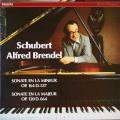ブレンデルのシューベルト/ピアノソナタ第4&13番 仏PHILIPS 2754 LP レコード
