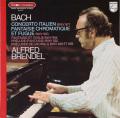 ブレンデルのバッハ/イタリア協奏曲ほか 仏PHILIPS 2754 LP レコード