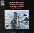 バルビローリのドビュッシー/「海」ほか 独EMI 2753 LP レコード