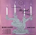 バルヒェット四重奏団のモーツァルト/ミラノ四重奏曲集  英Vox 3037 LP レコード