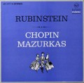 ルービンシュタインのショパン/マズルカ全集 独RCA 2812 LP レコード