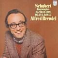 ブレンデルのシューベルト/4つの即興曲 英PHILIPS 2822 LP レコード