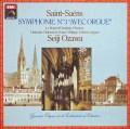 小澤のサン=サーンス/交響曲第3番「オルガン付き」 仏EMI(VSM) 2824 LP レコード