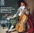 デュ・プレ&バレンボイムのブラームス/チェロソナタ第1&2番 独EMI 2824 LP レコード