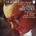 ブレンデルのモーツァルト/ピアノ協奏曲第18&27番  蘭PHILIPS 2826 LP レコード