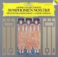 【直筆サイン入り】アバドのベートーヴェン/交響曲第7&8番 独DGG 2826 LP レコード