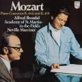 ブレンデル&マリナーのモーツァルト/ピアノ協奏曲第20&24番 蘭PHILIPS 2831 LP レコード
