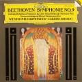[直筆サイン入り]アバドのベートーヴェン/交響曲第9番  独DGG 2835 LP レコード