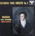 バックハウス&イッセルシュテットのベートーヴェン/ピアノ協奏曲第4番 英DECCA 2839 LP レコード