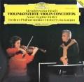 ムター&カラヤンのメンデルスゾーン&ブルッフ/ヴァイオリン協奏曲 独DGG 2839 LP レコード