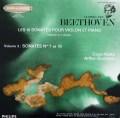 グリュミオー&ハスキルのベートーヴェン/ヴァイオリンソナタ第7&10番 仏PHILIPS 2840 LP レコード