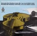 シェリングのバッハ/無伴奏ヴァイオリン・ソナタ&パルティータ第1番 独Odeon 2840 LP レコード