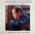 グールドのバッハ/ピアノ協奏曲第2&4番 独CBS 2841 LP レコード