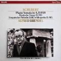 ブレンデルのシューベルト/ピアノソナタ第20番ほか 蘭PHILIPS 2841 LP レコード