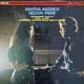 アルゲリッチ&フレイレの2台のピアノのための作品集 仏PHILIPS 2846 LP レコード