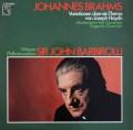 バルビローリのブラームス/管弦楽曲集 独EMI 2849 LP レコード