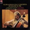 デュ・プレのエルガー&ディーリアス/チェロ協奏曲 蘭EMI 2849 LP レコード