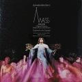 【直筆サイン入り】バーンスタインの自作自演「歌手と演奏家、踊り手のためのミサ曲」 英CBS 2818 LP レコード