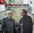 ロストロポーヴィチ&ジュリーニのドヴォルザーク/チェロ協奏曲ほか 独EMI 2901 LP レコード
