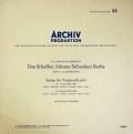 【モノラル】フルニエのバッハ/無伴奏チェロ組曲全曲 独ARCHIV 2901 LP レコード
