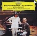 ツィマーマン&小澤のリスト/ピアノ協奏曲第1&2番ほか  独DGG 2903 LP レコード