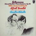 ブレンデル&アバドのシューマン/ピアノ協奏曲ほか  蘭PHILIPS 2904 LP レコード