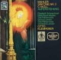 クレンペラーのマーラー/交響曲第2番「復活」  独EMI 2904 LP レコード