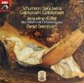 デュ・プレ&バレンボイムのシューマン&サン=サーンス/チェロ協奏曲集 独EMI 2907 LP レコード