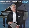 ルービンシュタインの「カーネギーホール・リサイタル 1961」 独RCA 2909 LP レコード