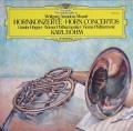 ヘーグナー&ベームのモーツァルト/ホルン協奏曲全曲 独DGG 2909 LP レコード