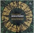 【サイン入り】カラヤンのワーグナー/楽劇「ジークフリート」全曲 独DGG 2909 LP レコード