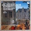 ピノックのバッハ/ブランデンブルク協奏曲(全曲) 独ARCHIV 2911 LP レコード